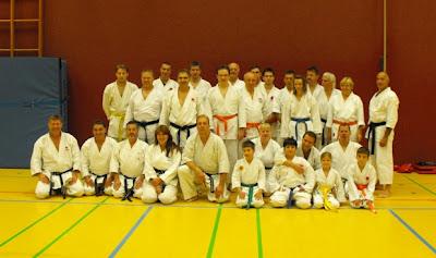 Karate-Bundeslehrgang in Obertshausen bei Offenbach